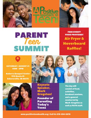 Parent Teen Summit Flyer